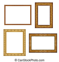 different photo frames