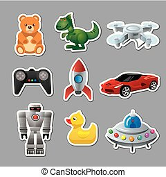 toys stickers for babies