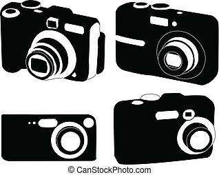 digital photo camera collection