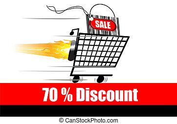 discount advertisement