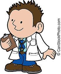 Illustration of doctor