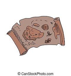 doodle treasure map