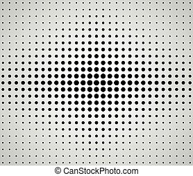 dots background abstract concept