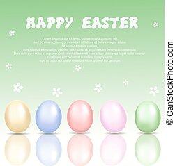 Illustration of Easter background