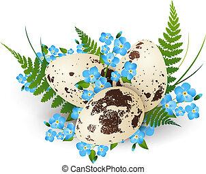 Easter Quail Egg