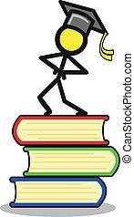education - illustration of education