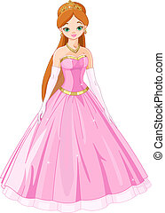 Fairytale princess - Illustration of Fairytale princess