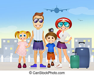 Family Holiday Illustrations And Clipart 47389