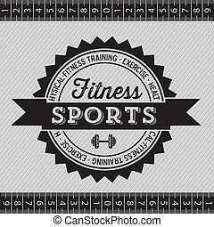 Fitness Icons - Illustration of Fitness Icons, sports and ...