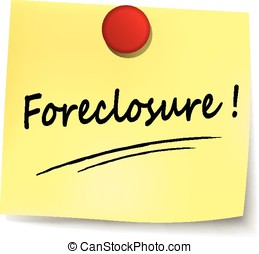 foreclosure yellow note