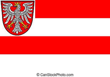 Frankfurt city flag