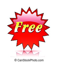 free red star icon