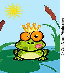 Illustration Of Frog Prince