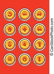 game set icons