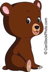 funny bear Cartoon
