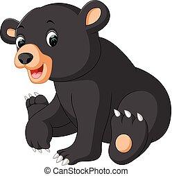 funny bear Cartoon