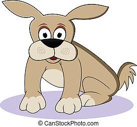 funny dog cartoon