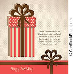 Illustration of gift box