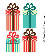 Illustration of gift boxes