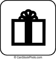 Illustration of gift icon