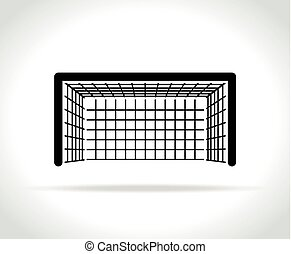 goal icon on white background