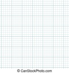 Illustration of graph paper background concept