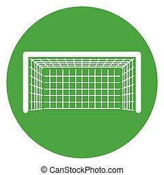 green circle goal icon