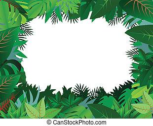 Clipart-Bild Vektor-Regenwald Tiere Silhouetten im Sonnenuntergang  Design-Vorlage