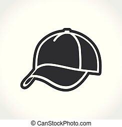 cap on white background