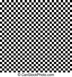 Illustration of grunge checker board, abstract background.