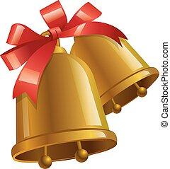 happy christmas bells