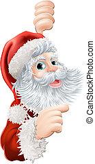 Christmas Santa Claus - Illustration of happy Christmas...