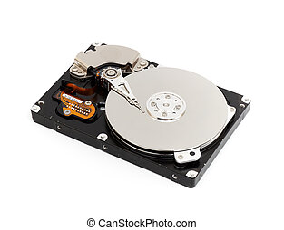 Illustration of Hard disk drive HDD