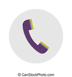 Headphone Circle Flat Icon