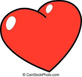 Illustration of heart shape