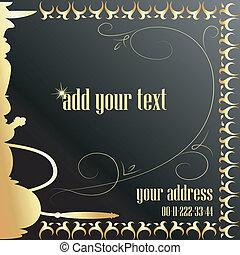 Illustration of hookah for advertis - design hookah for the ...