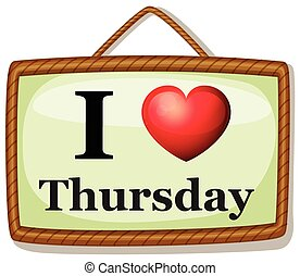 I love Thursday
