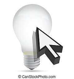 illustration of idea bulb