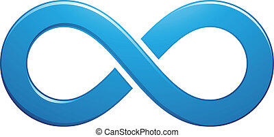 Infinity Symbol Design - Illustration of Infinity Symbol...