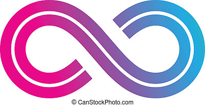 Infinity Symbol Design - Illustration of Infinity Symbol...