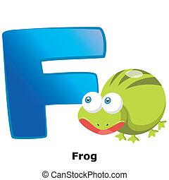 animal alphabet F