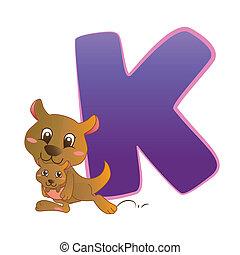 animal alphabet K