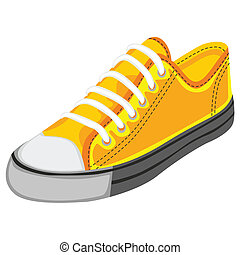 illustration of isolated shoes