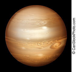 Illustration of Jupiter