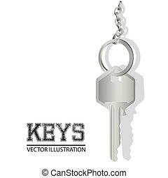 illustration of key