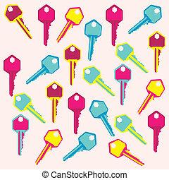 illustration of keys