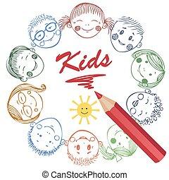 Illustration of Kids