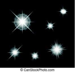 light of stars effect set