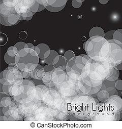 illustration of lights