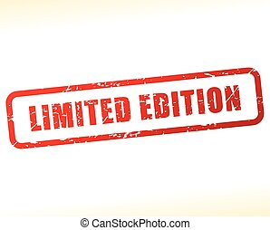 limited edition stamp